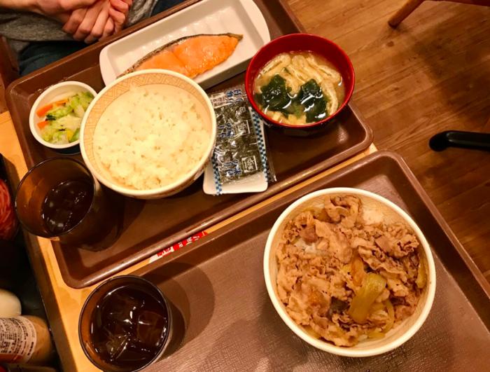Billig mad Japan